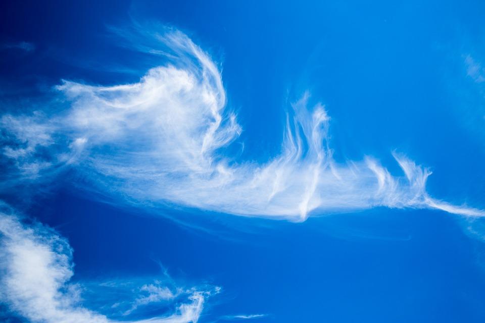 Beautiful Clouds, Clouds, Cirrus, Beautiful, Blue