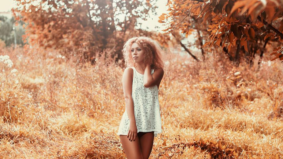 Girl, Short Dress, Beautiful, Model, Beauty, Woman