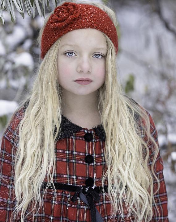 Beautiful Girl, Snow, Winter Wonderland, Cold, Fashion