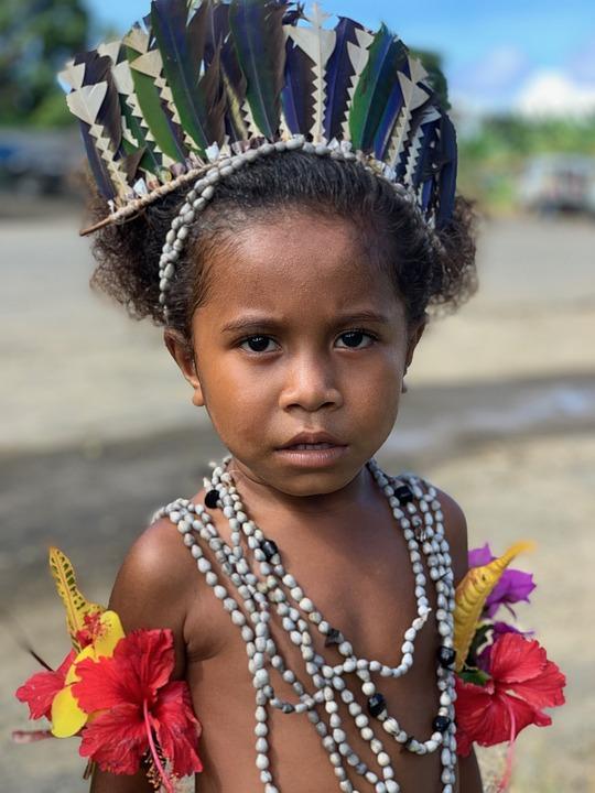 Alotau, Papua New Guinea, Child, Beautiful