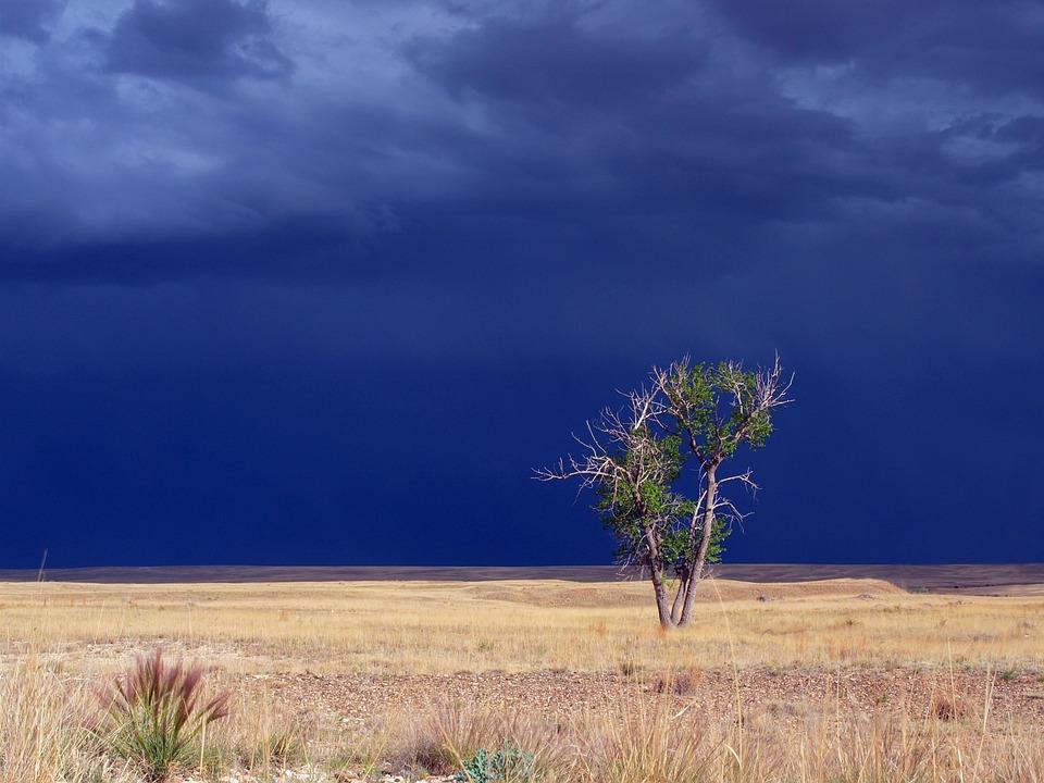 Beautiful, Stormy Sky, Cloud, Sky, Storm, Stormy
