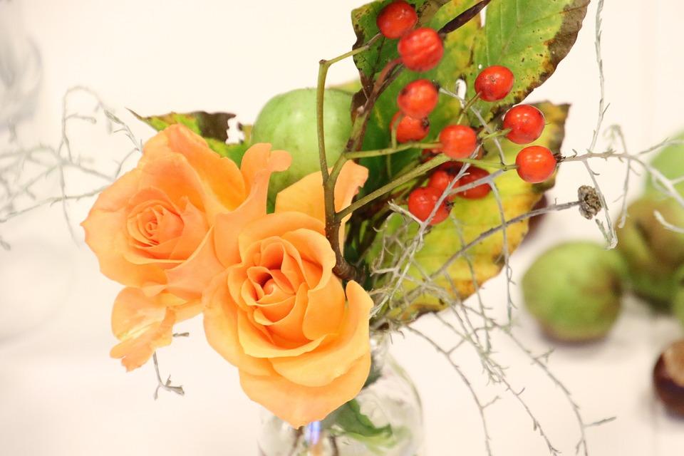 Flowers, Roses, Yellow, Beautiful, Bouquet, Romance