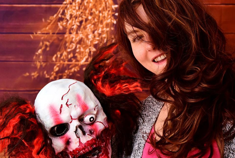 Beauty And The Beast, Mask, Horror, Clown, Horror Clown