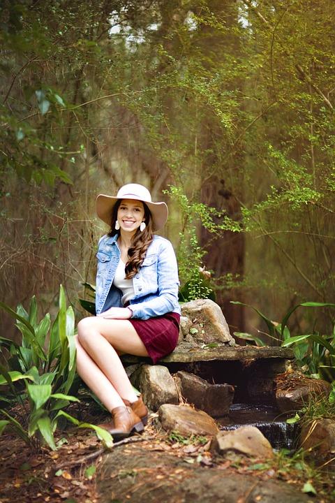 an outdoors girl