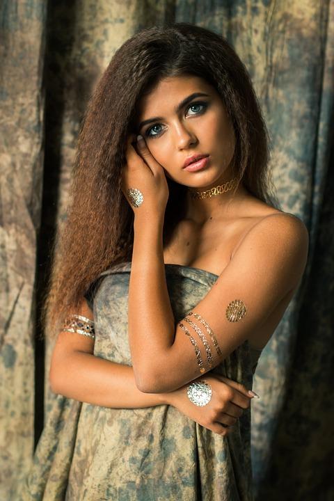 Girl, Fashion, Makeup, Beauty, Model, Russian