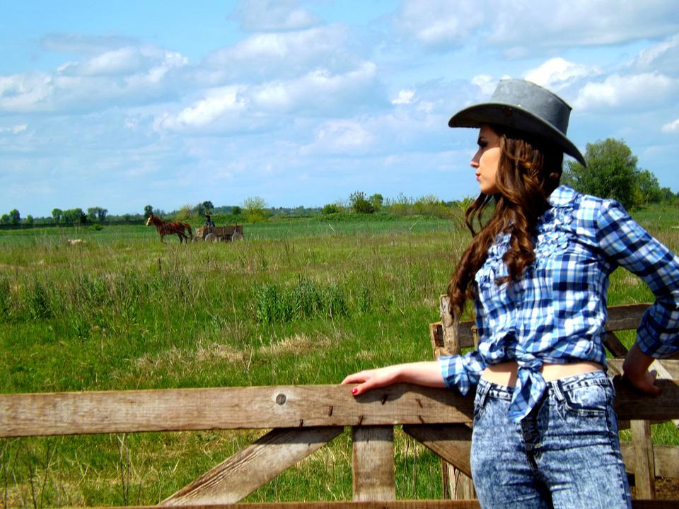 Cowgirl, Wild West, Hats, Beauty