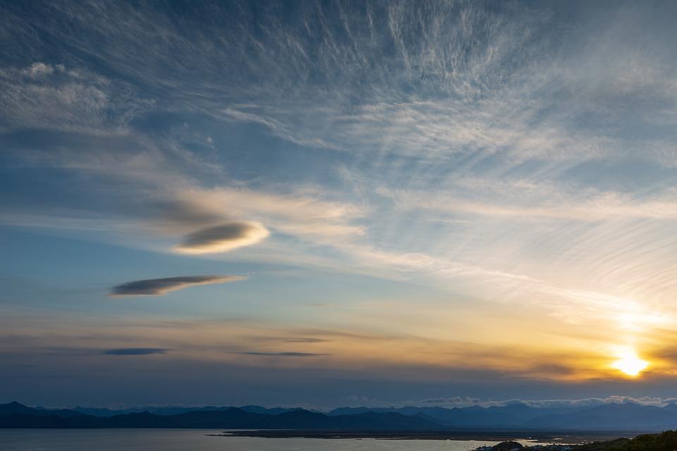 Kamchatka, Sunset Palette, Colors, Sky, View, Beauty