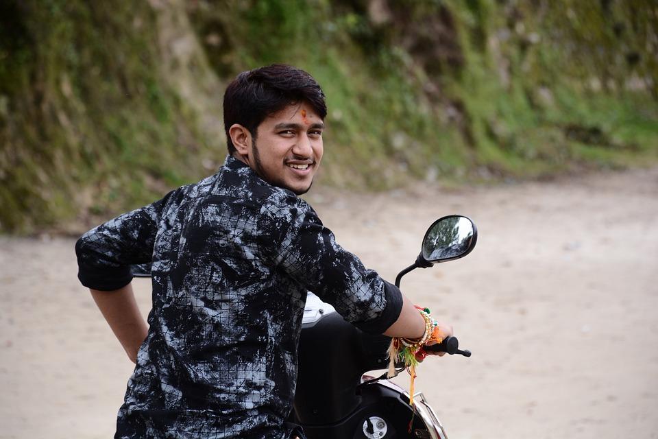 Beauty, Bike, Rider, Uttarakhand, Handsome Boy