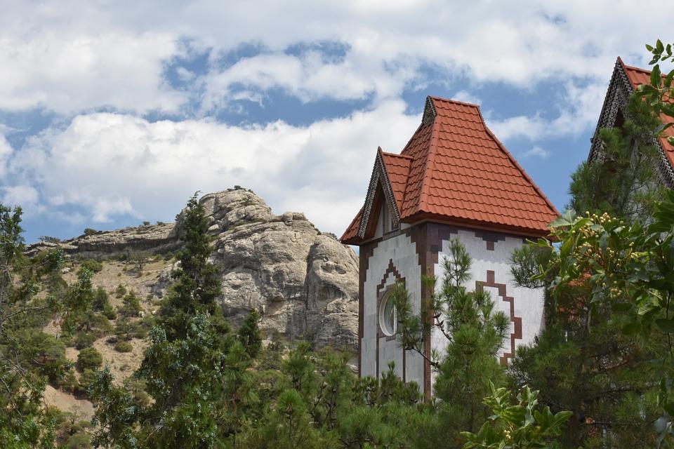 House, Terem, Mountains, Landscape, Structure, Beauty