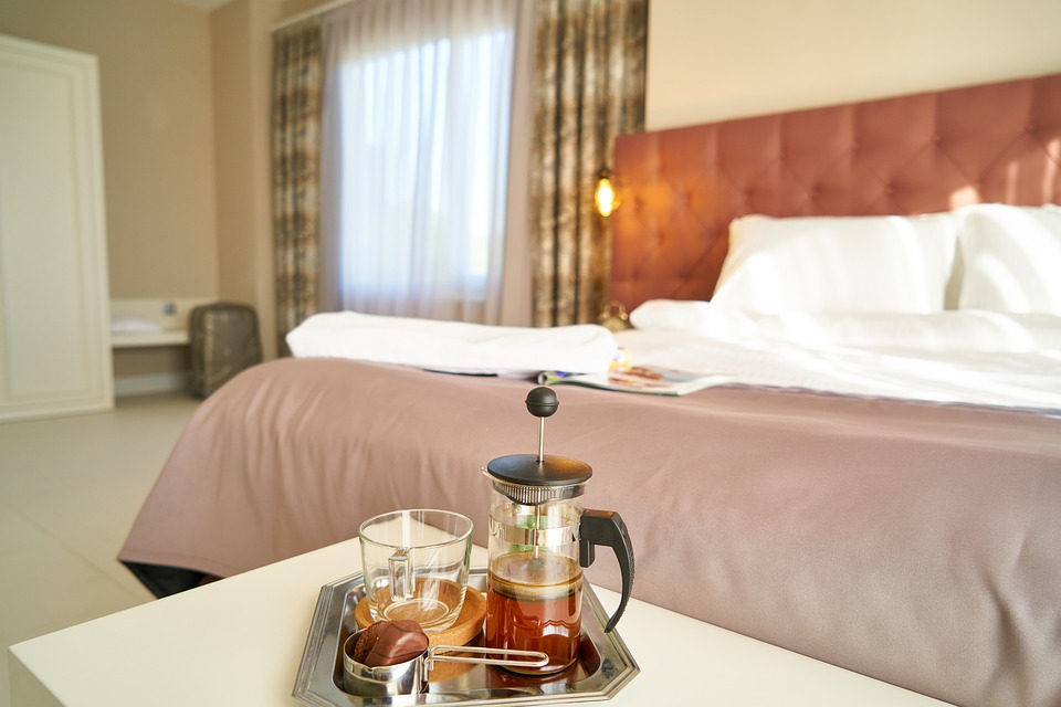 Hotel, Coffee, Tea, Beverage, Hot, Holiday, Bed