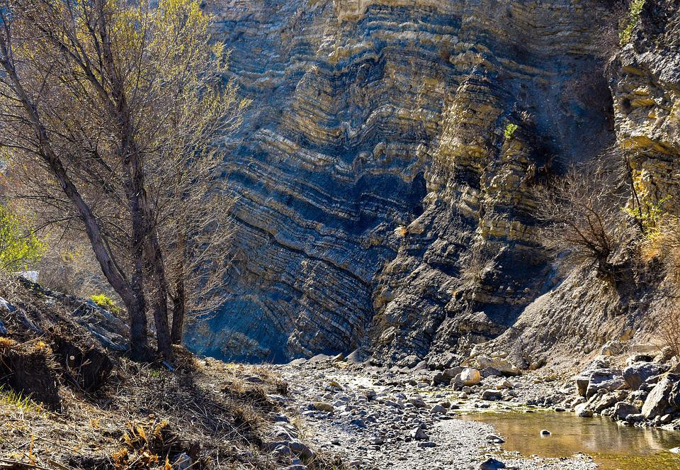 Canyon, Stream, Water, Bed, Nature, Landscape, Gorge