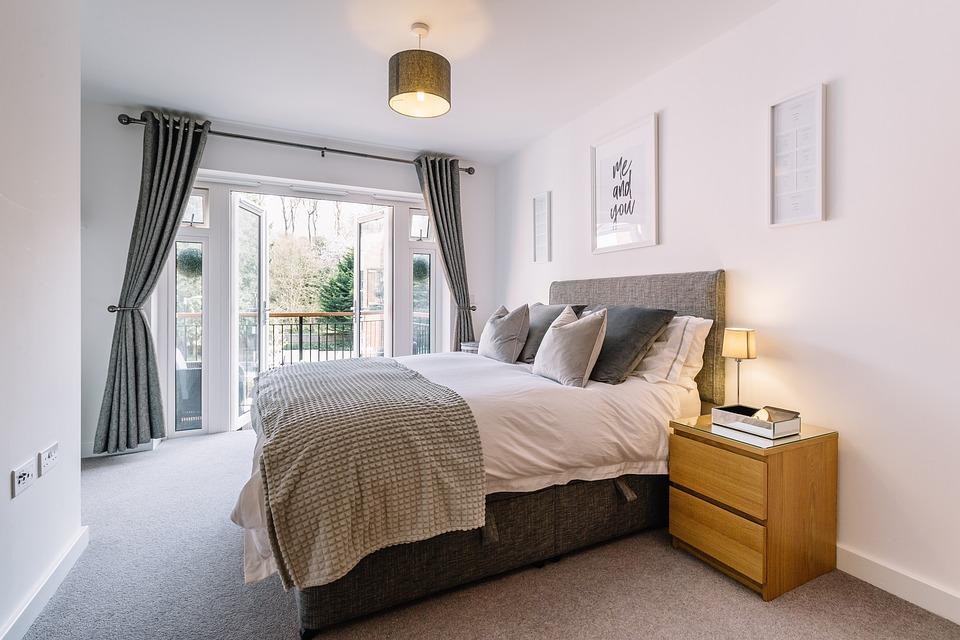 Bedroom, Interiors, Beddings, Furniture