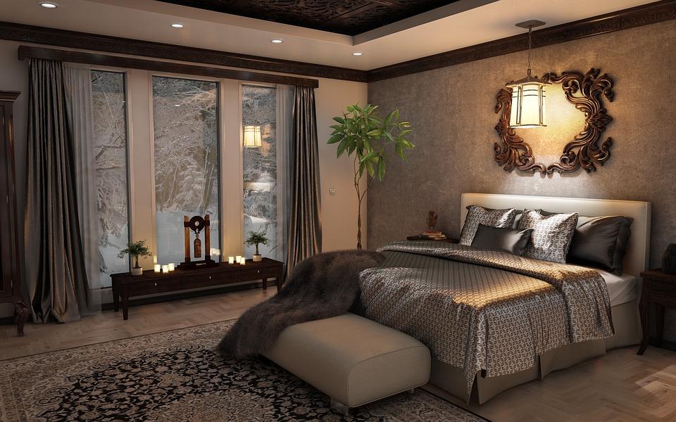 Bedroom, Interior, Design, Style, Indoors, Luxury