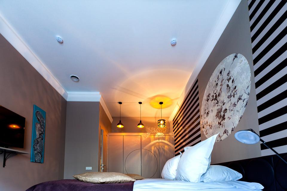 Apartment, Apartments, Textiles, Bedroom, Light