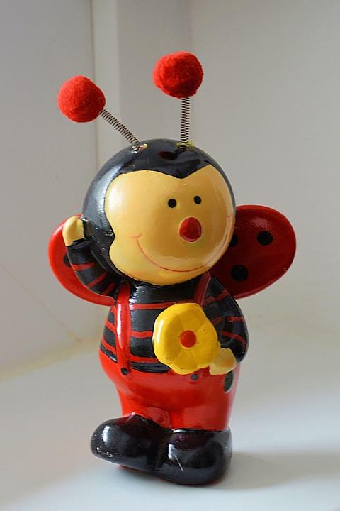 Figure, Porcelain Figurine, Bee, Decoration, Funny