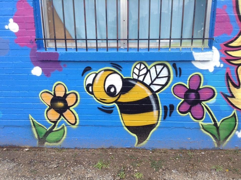 Bee, Graffiti, Honey, Drawing, Symbol, Doodle, Insect