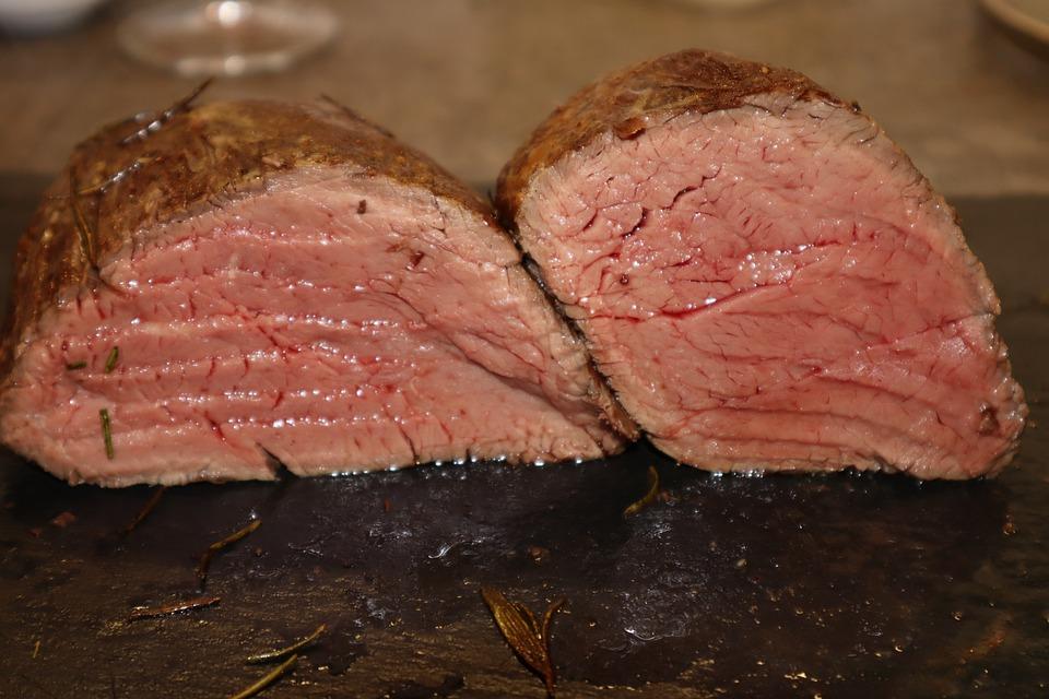 Fillet, Fillet Of Beef, Lungs Fry, Beef, Meat, Steak