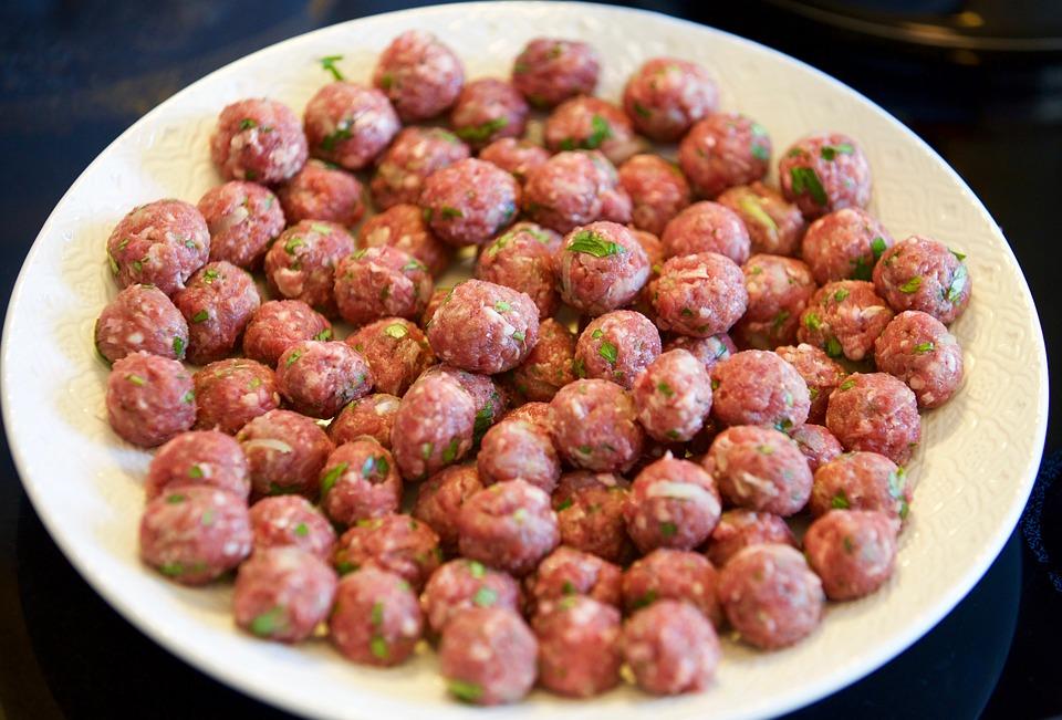 meatball flat meat beef kitchen minced meat - Meatball Kitchen