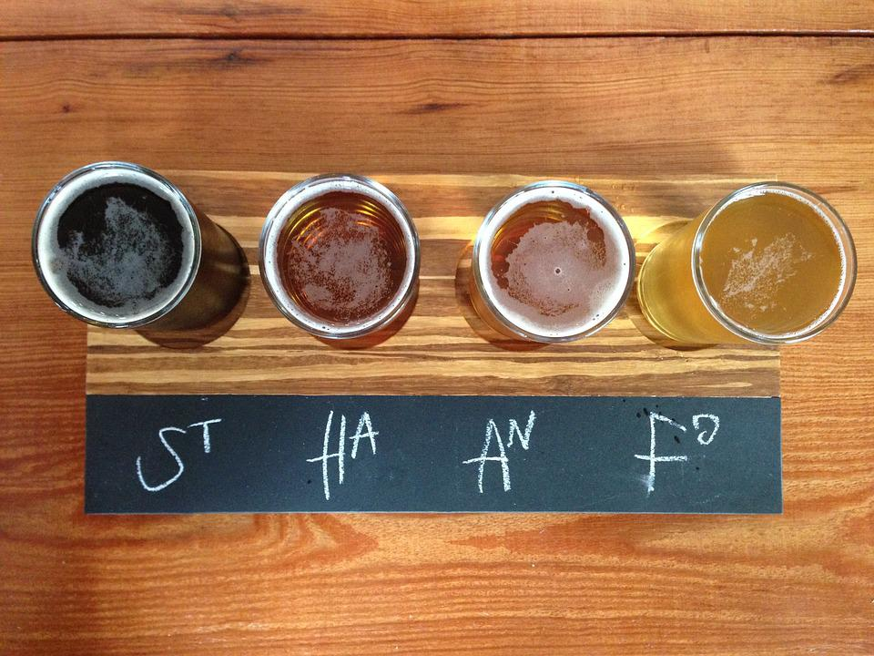 Beer, Flight, Brewery, Draft, Bar, Craft, Glass