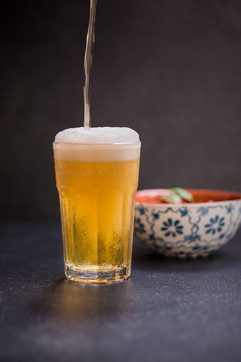 Beer, Glass, Foam, Give A, Tap, Ray, Tapped, Draft Beer