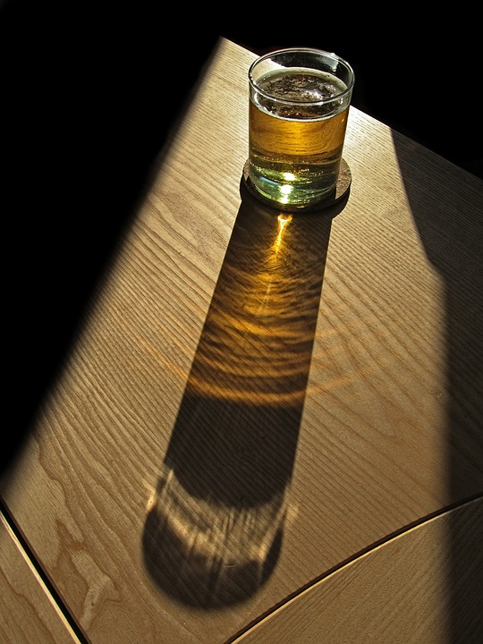 Beer, Glass, Shadow, Refreshment, Drink, Cider, Cool
