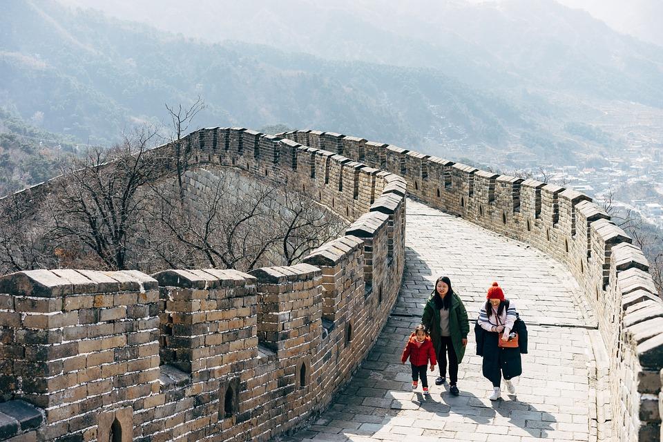 Great Wall Of China, Beijing, China, Asia, Chinese