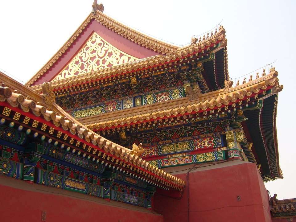 China, Home, Roof, Beijing, Forbidden City