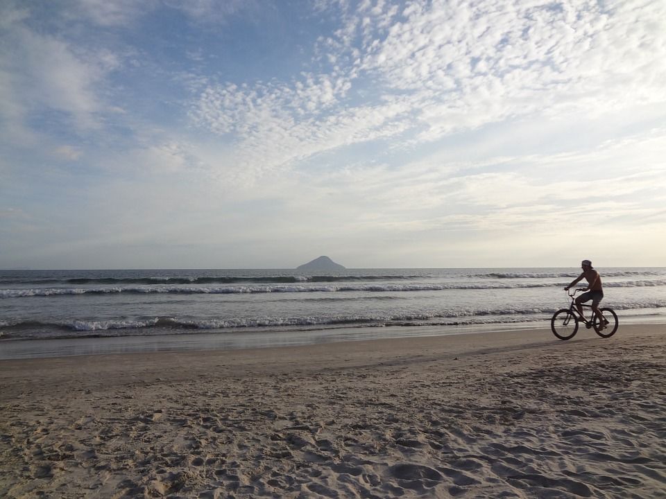 Beach, Holidays, Bike, Summer, Beira Mar, Heat, Sand