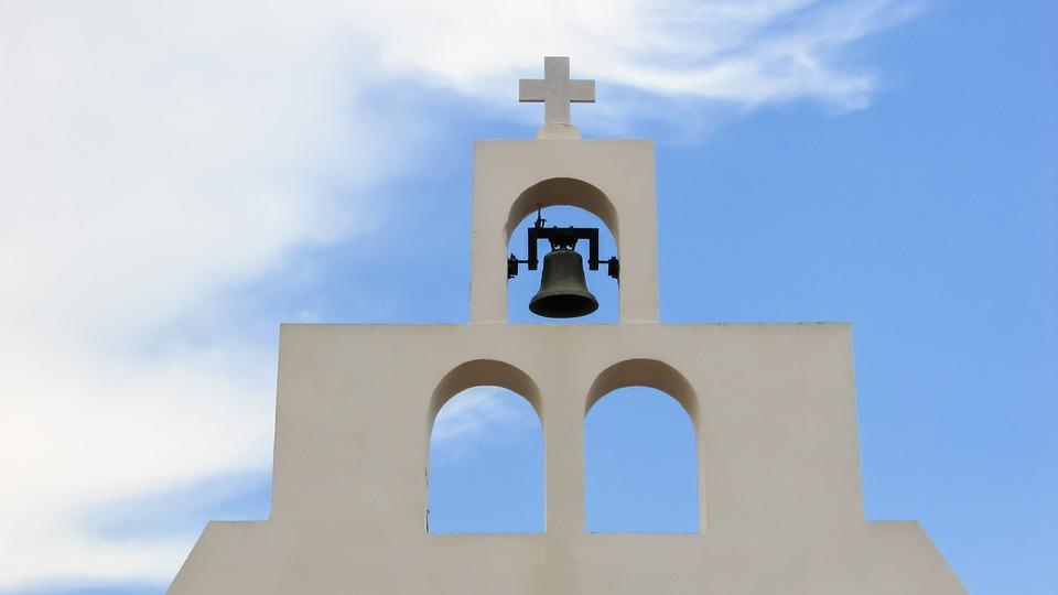 Church, Orthodox, Religion, Architecture, White, Belfry