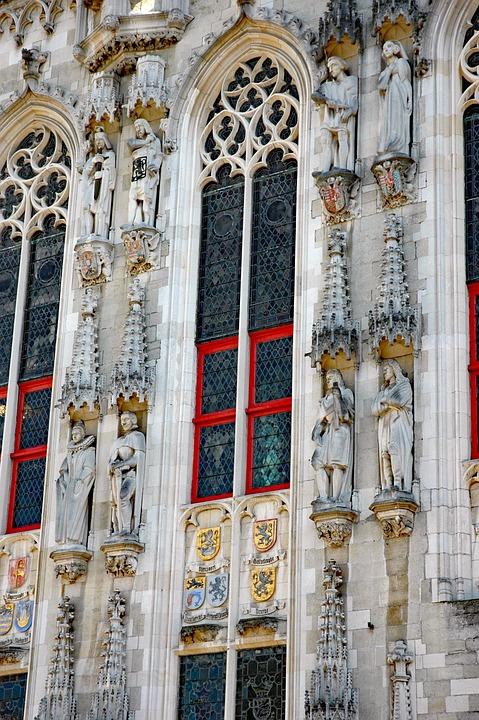 Belgium 2015, Stadhuis, Bruges 1376-1420, Historically