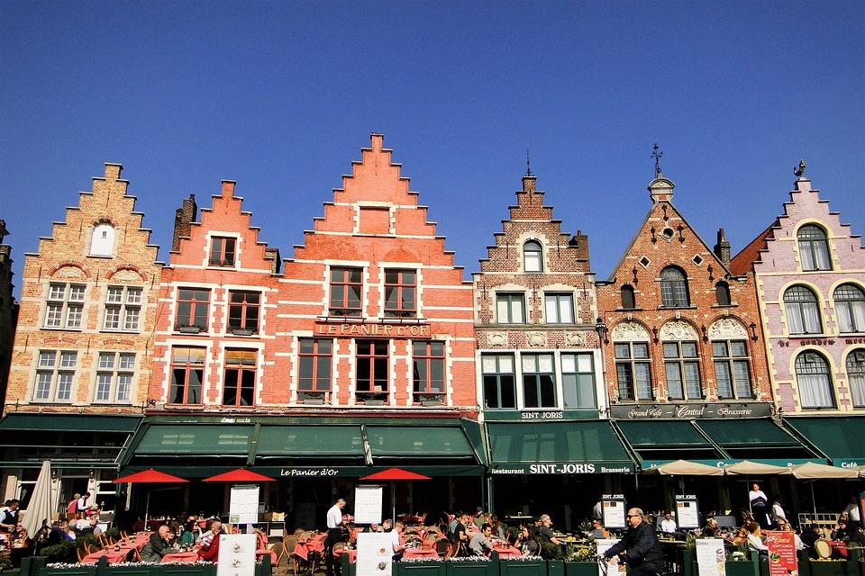 Bruges, Medieval, House, Building, Belgium