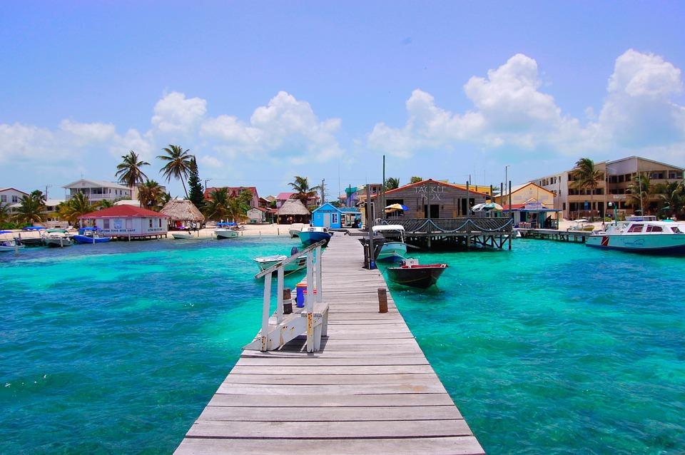 Belize, San Pedro, Tropical, Caye, Ambergris, Water