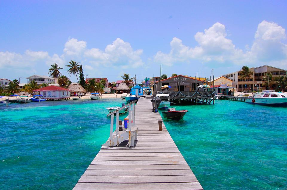 Belize, San Pedro, Tropical, Caye, Ambergris, Water