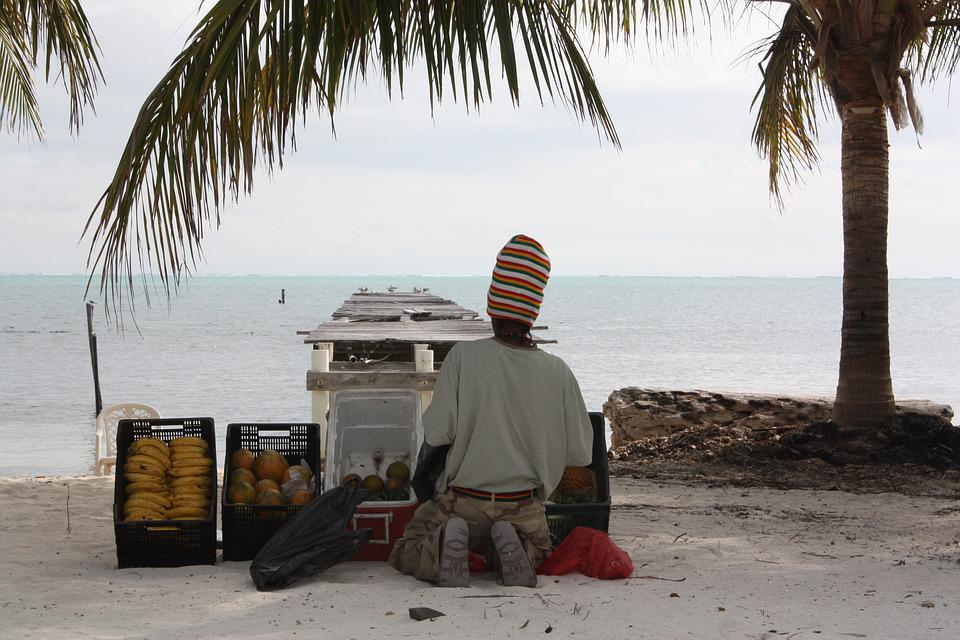 Beach, Belize, Vacation, Coast, Ocean, Belizean