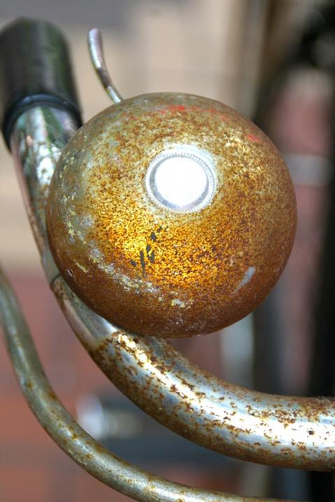 Bike, Bell, Handlebars, Bike Bell