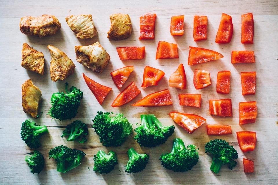 Vegetables, Bell Peppers, Capsicum, Broccoli, Celery