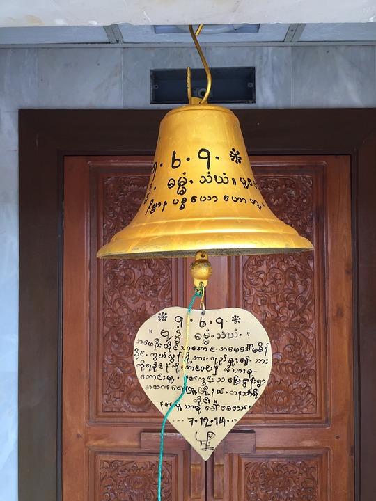 Bell, Thailand, Temple, Pukhet