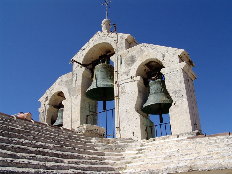Bells, Bell Tower, Fortress Church, Hvar