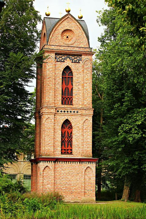 Bell Tower, Building, Tower, Brick, Steeple