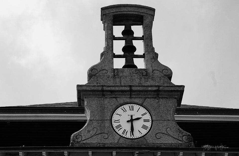 Bell Tower, Pendulum, Time, Bells, Architecture, City