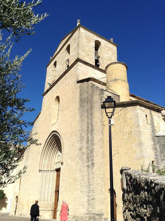 Church, Bell Tower, Village, Pierre