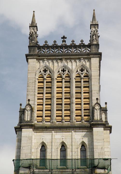 Saint Jean Baptiste, Cathedral, Belley, France, Tower