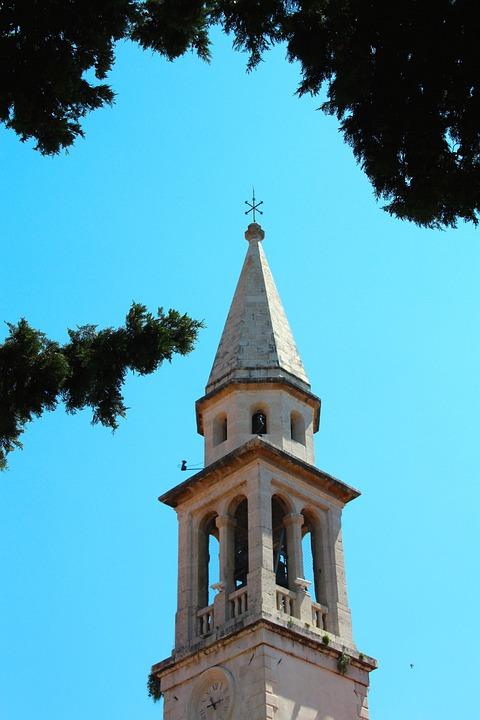 Church, Bells, Bell Tower, Chapel, Steeple
