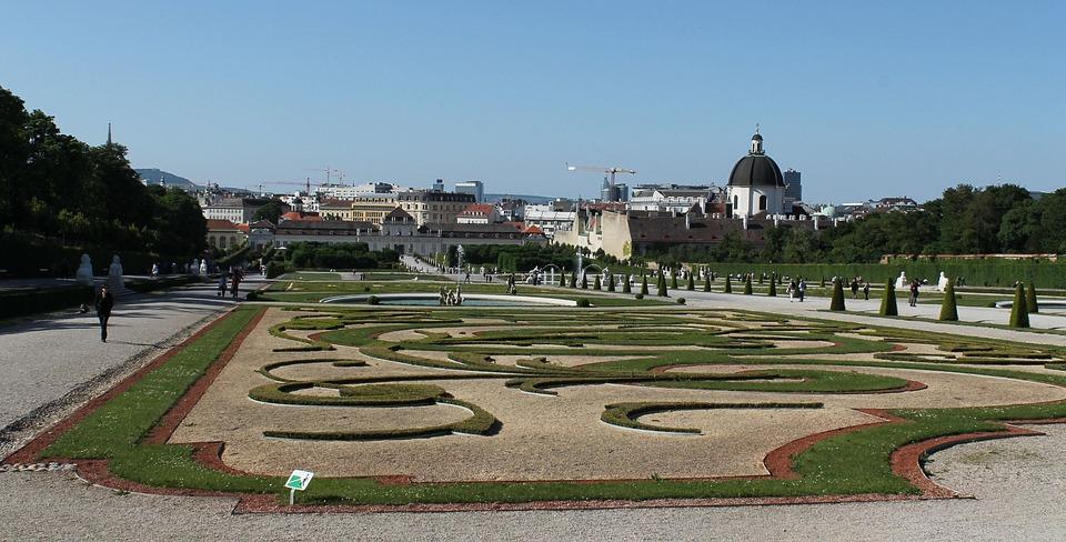 Belvedere, Gardens, Vienna, Palace, Castle
