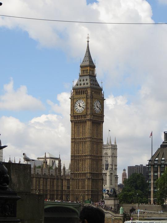 Big Ben, London, England, Ben, Big, Clock, Landmark