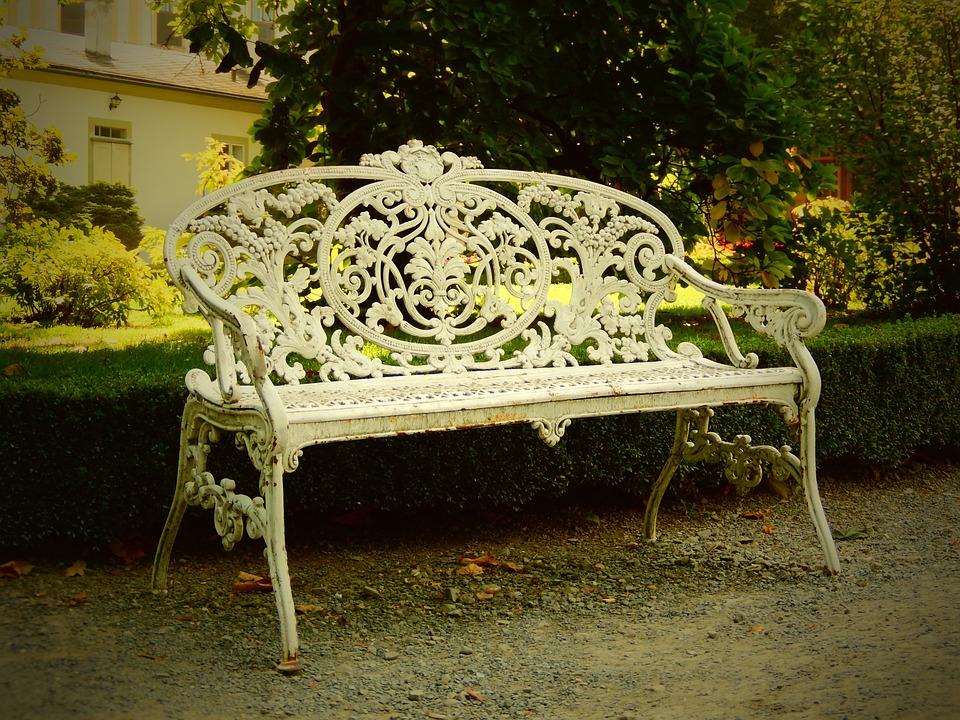 Bench, Park, Recreation, Sit, Session, Vintage