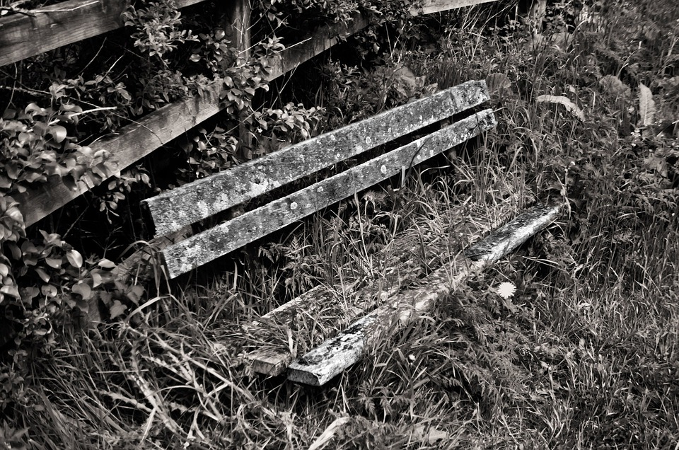 Old, Bench, Wood, Architecture, Decoration, Background