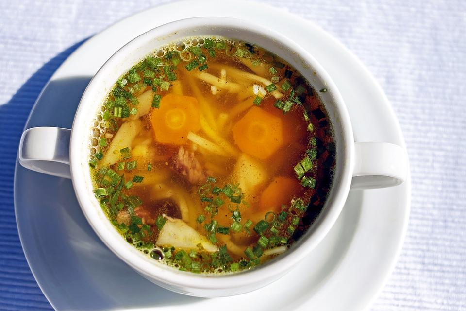 Soup, Beef Soup, Noodle Soup, Benefit From, Baden