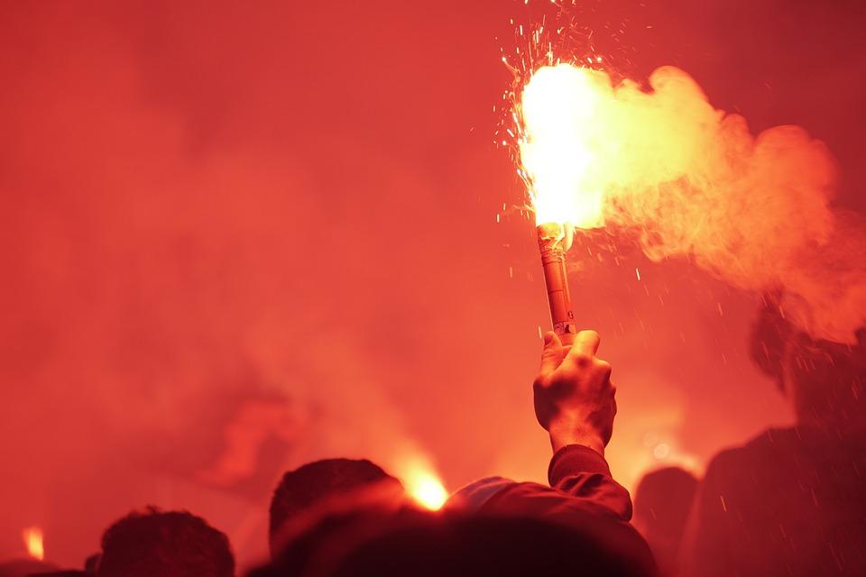 Pyro, Torch, Smoke, Burn, Bengale, Fire, Flame