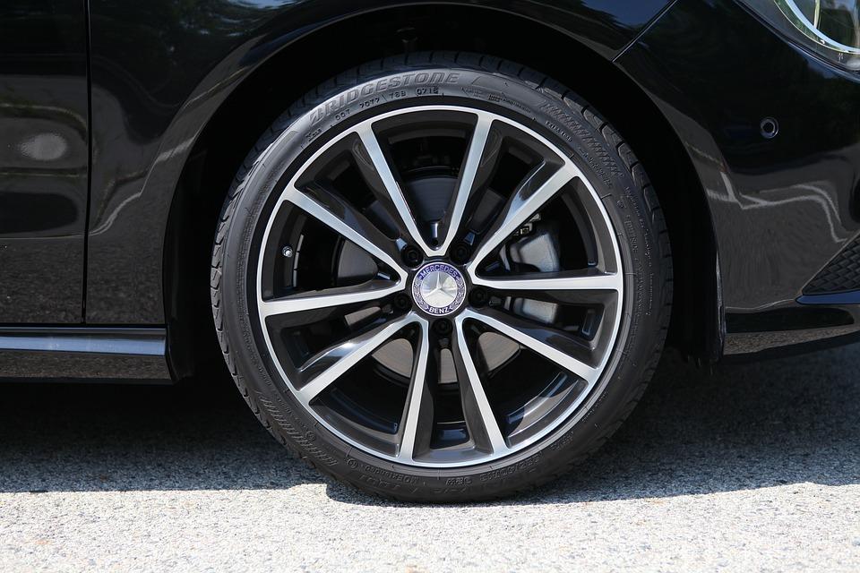 Car, Wheels, Tire, Benz